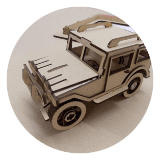 Model of a vehicle
