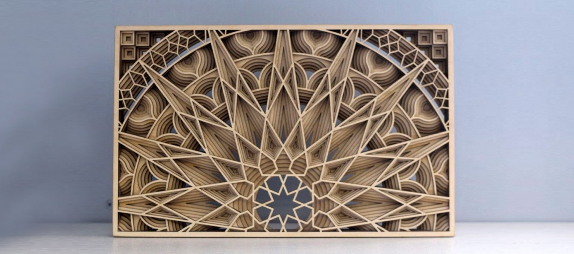 Laser cut decoration