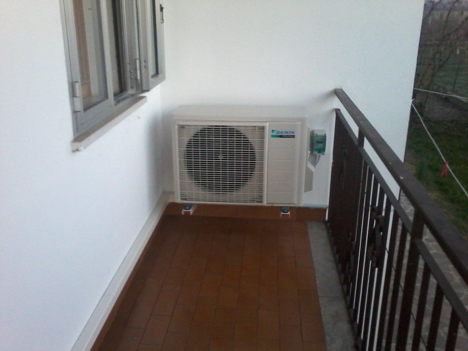 un impianto di climatizzazione