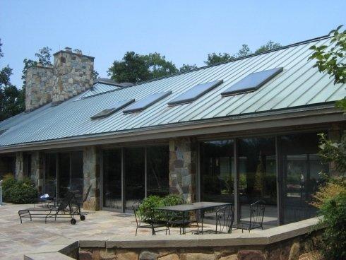 Realizzazione coperture edili metalliche