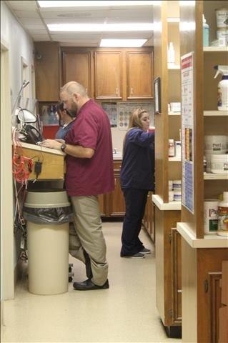 Lakeside Animal Clinic lab