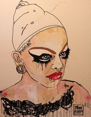 Artist Rendition of a Drag Queen