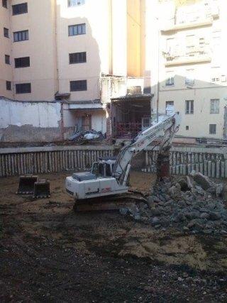 scavi e lavori edili