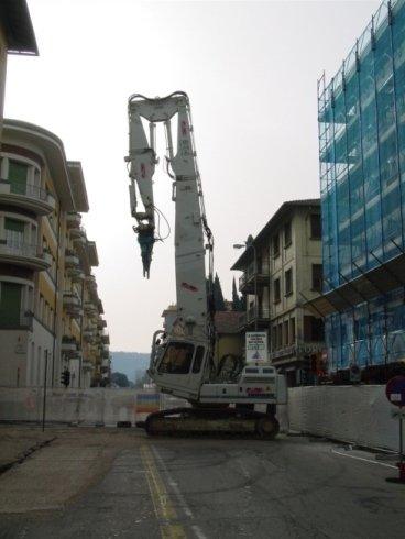 Demolizioni a Foiano della Chiana