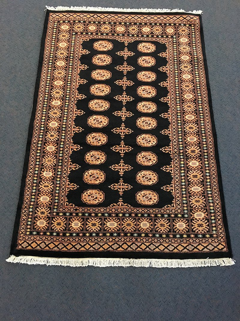 Bokhara, Pure Wool Pile, Hand-Knotted rug