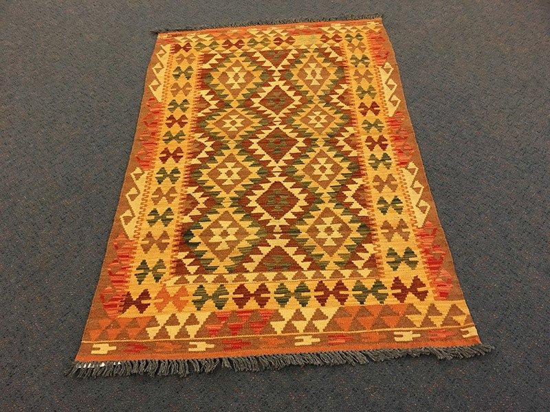 Chobi Kilim, Pure Wool, Hand Knotted, rug