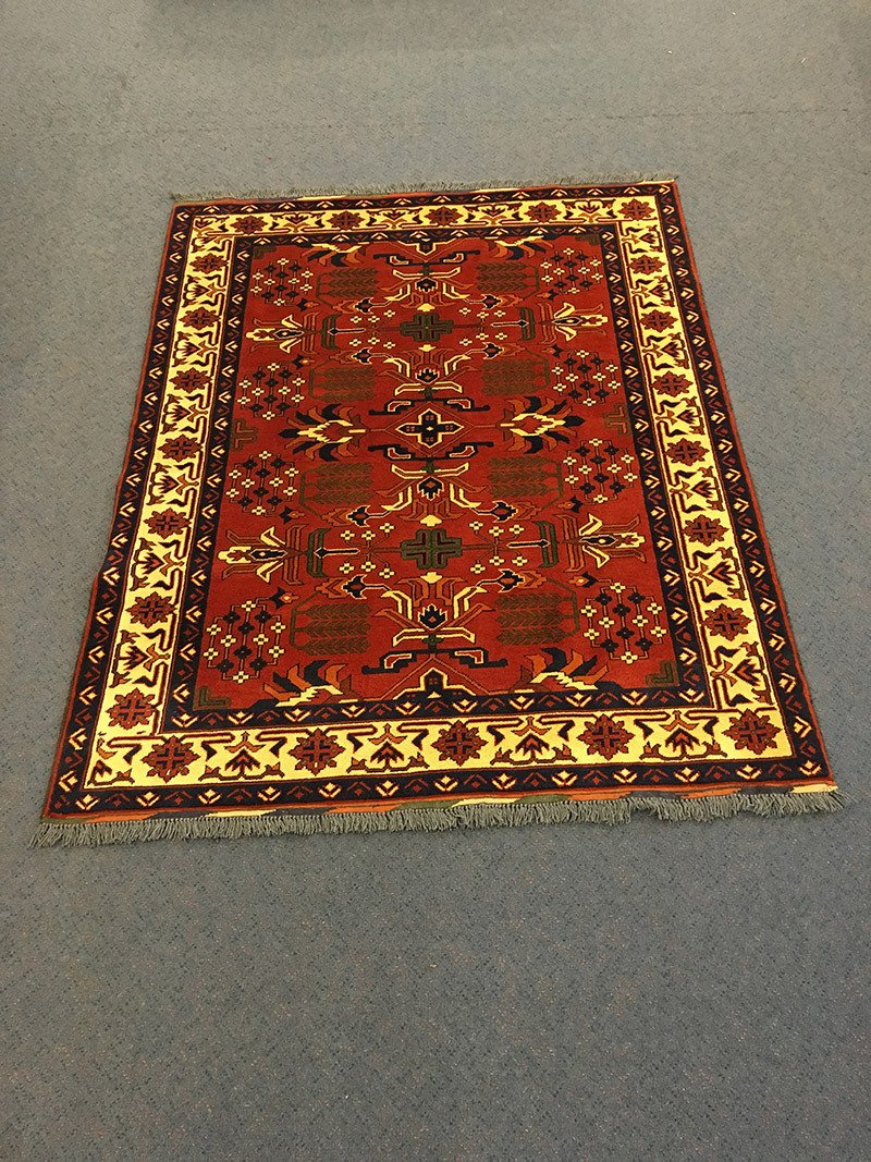 Karghai, Pure Wool Pile, Hand-Knotted rug