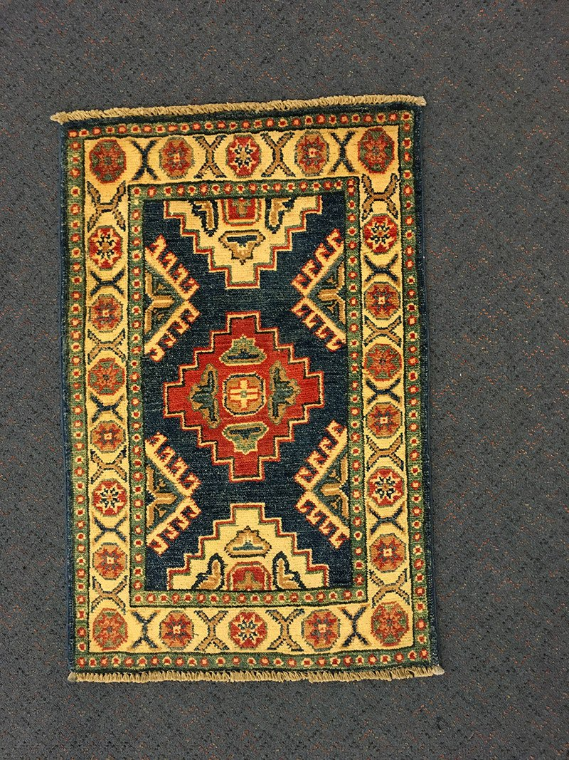 Kazak, Pure Wool Pile, Hand-Knotted rug