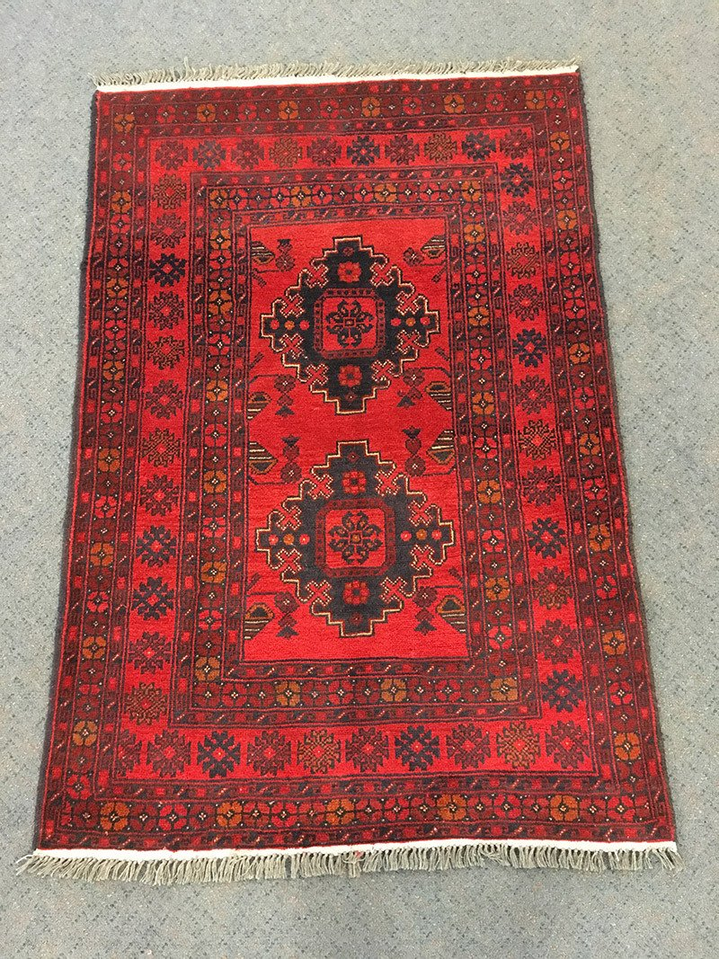 Khal Mohamadi, Pure Wool Pile, Hand-Knotted rug