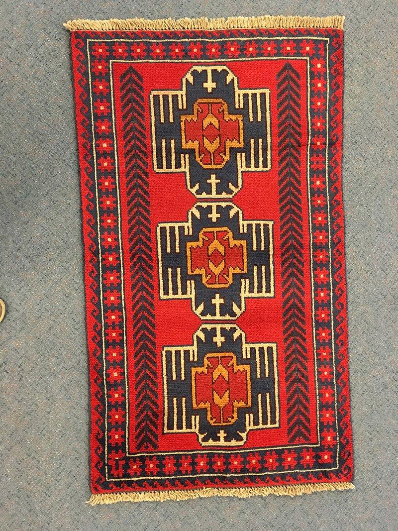 Nomadic Baluchi, Pure Wool Pile, Hand-Knotted rug