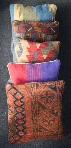 View of cushion covers