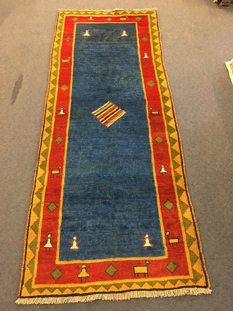 Persian Gabbah, Pure Wool Pile, Hand Knotted rug