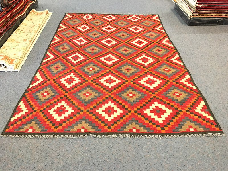 Tribal Memina Kilim, Pure Wool, Hand-Knotted rug