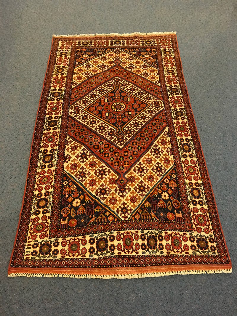 Usmani, Pure Wool Pile, Hand-Knotted rug