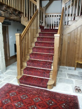 Elegant handmade rug for home