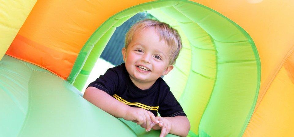outdoor events bouncy castle