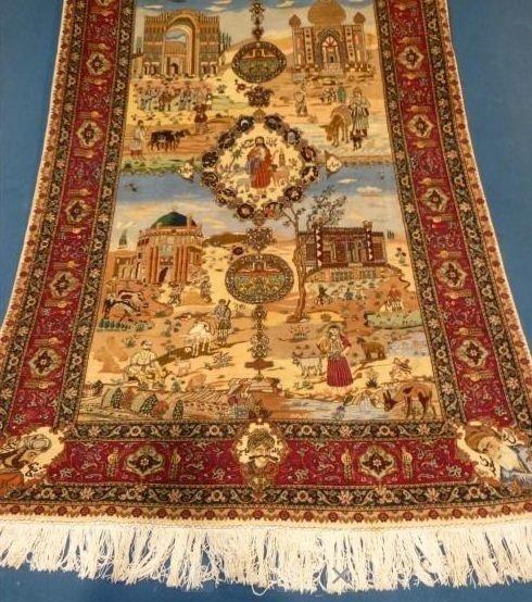 tappeto tabriz quattro stagioni
