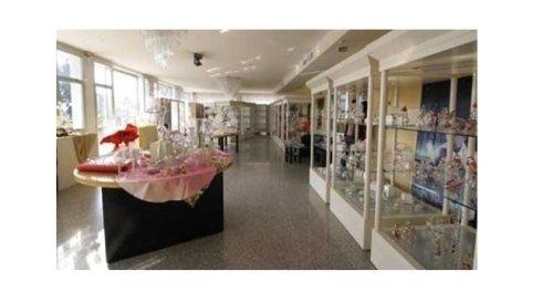 vendita di creazioni in vetro
