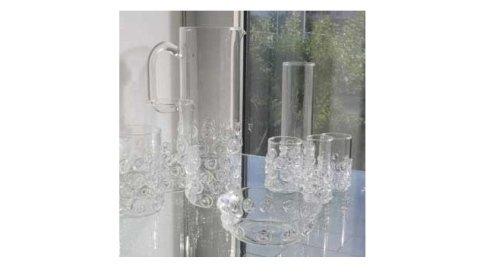 bicchieri vetro soffiati a caldo