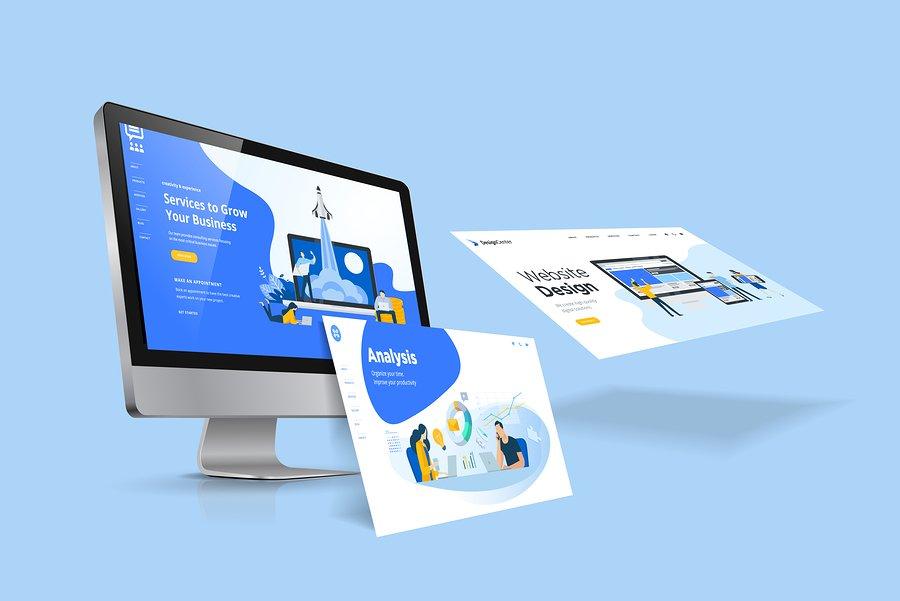 Website designing for Resorts