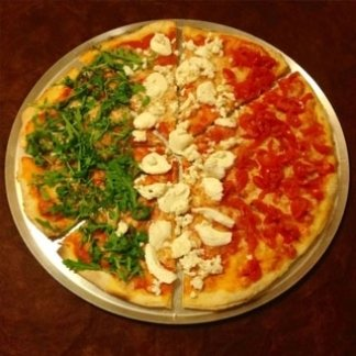 pizza italiana, pizza bandiera italiana, pizza italia