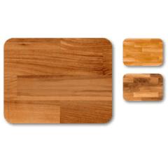 legno di noce, legno di rovere, legno di ciliegio