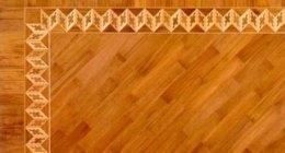 decorazione parquet, decorazione su legno, intarsi su legno