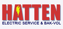 Hatten Electric Service & Bak-Vol logo