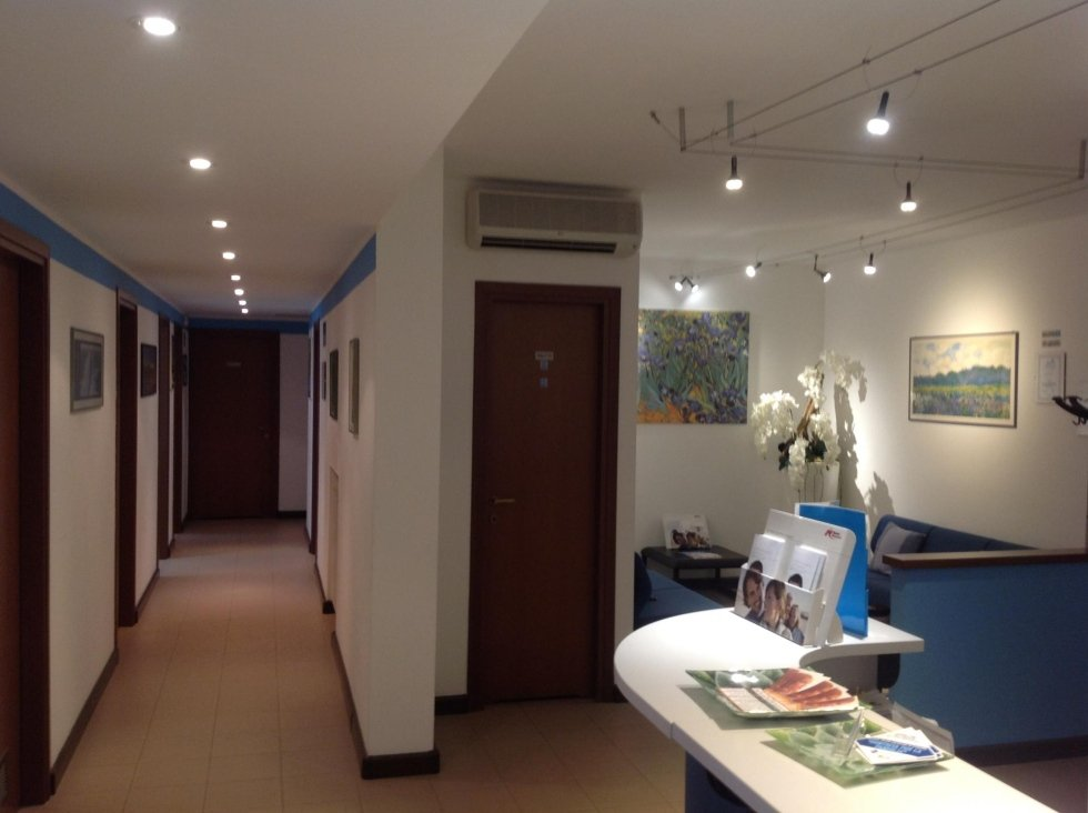 Sala attesa e ingresso