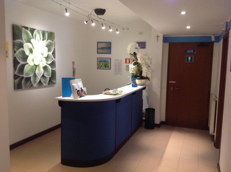 Reception ingresso