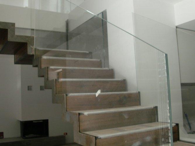 Parapetti in cristallo bonate sopra bergamo styl vetro