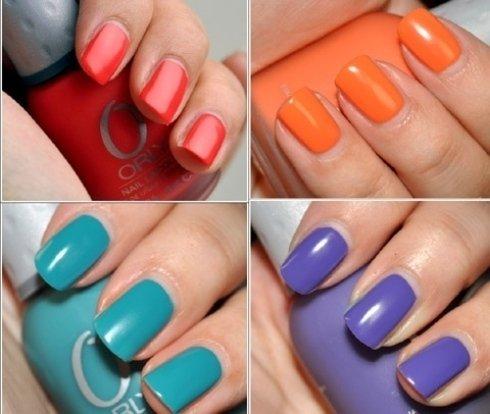 Colorazione unghie