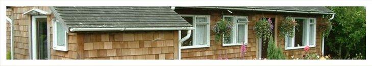 House with a shingle roof