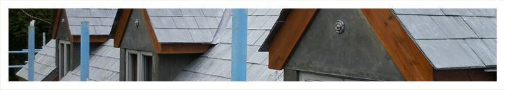 Stylish looking slate roof