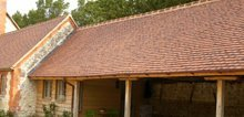 We have worked on the re-roofing of outbuildings