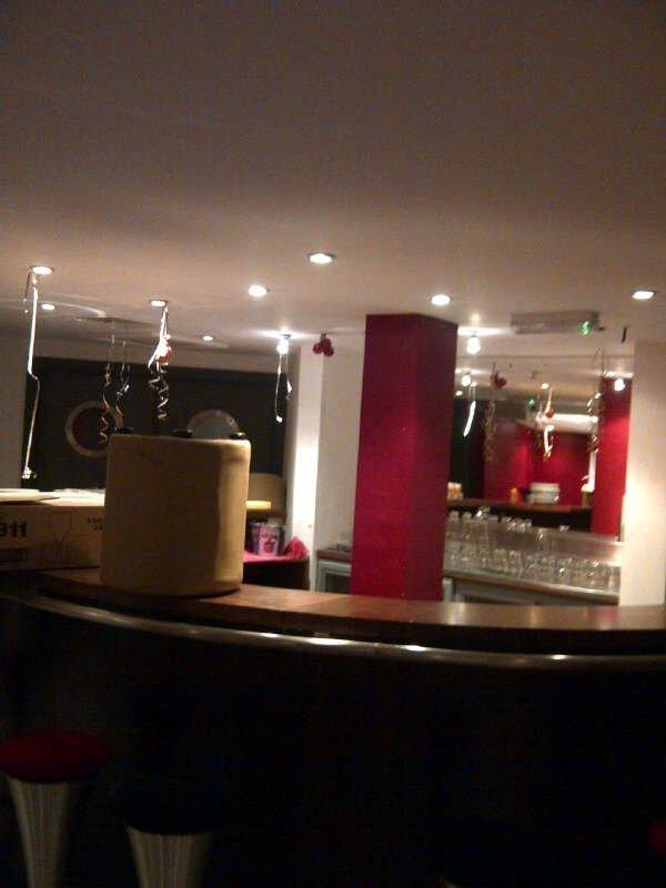 lighting in bar