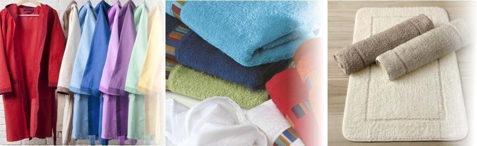 Vendita accapatoi e asciugamani