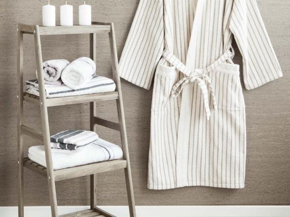 abbinato asciugamani accappatoio