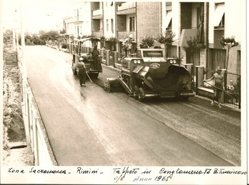 realizzazione asfalto per strade