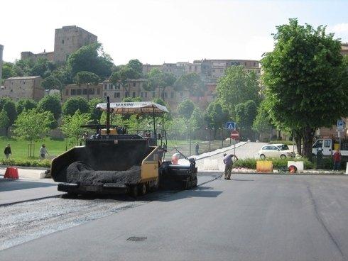 realizzazione strade asfaltate
