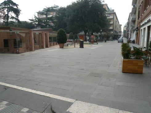 piazza tre martiri lavori
