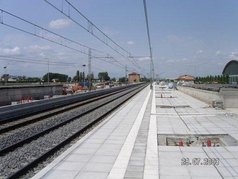 lavori realizzazione stazione rimini fiera