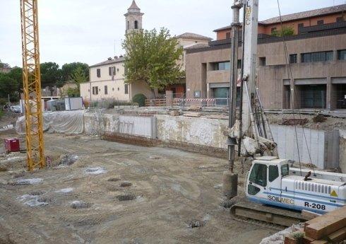 realizzazione parcheggi multipiano