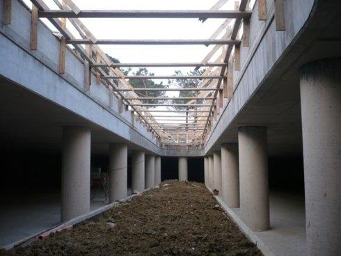 lavori struttura parcheggi multipiano