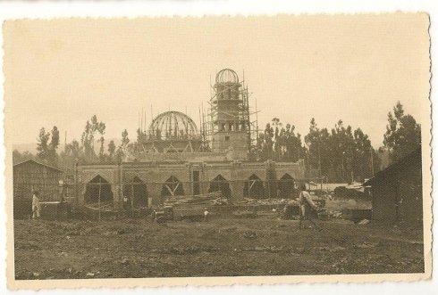 costruzione minareto