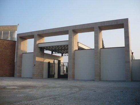 realizzazione ingresso cimitero