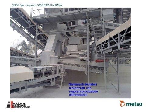 impianti produzione ghiaia