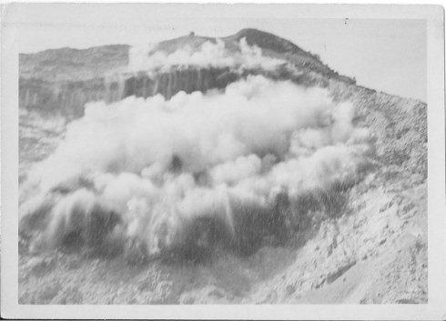 esplosione cava