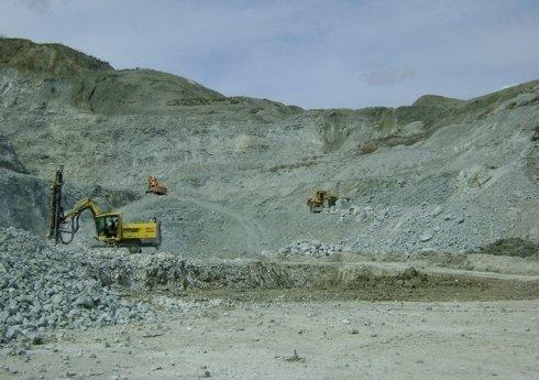 gli scavi nella cava ceisa