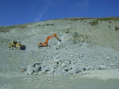 scavi alla cava ceisa
